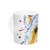 KESS InHouse Bella by Rebecca Fischer 11 oz. Scottish Terrier Ceramic Coffee Mug