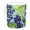 KESS InHouse Circular Persuasion by Ebi Emporium 11 oz. Turquoise Ceramic Coffee Mug