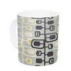 KESS InHouse Carnaby by Gill Eggleston 11 oz. Ceramic Coffee Mug