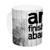 KESS InHouse Art Never Finished by KESS Original 11 oz. Ceramic Coffee Mug