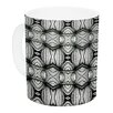 KESS InHouse Flor by Matthias Hennig 11 oz. White Ceramic Coffee Mug