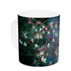 KESS InHouse Monet's Dream by Ann Barnes 11 oz. Dark Flower Ceramic Coffee Mug