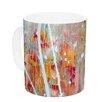 KESS InHouse Joy by Iris Lehnhardt 11 oz. Splatter Paint Ceramic Coffee Mug