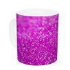 KESS InHouse Raspberry Sorbet by Beth Engel 11 oz. Ceramic Coffee Mug