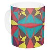 KESS InHouse Abstract Insects by Empire Ruhl 11 oz. Ceramic Coffee Mug