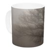 KESS InHouse Lonely Tree by Angie Turner 11 oz. Dark Fog Ceramic Coffee Mug