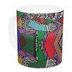 KESS InHouse African Motif by Vasare Nar 11 oz. Ceramic Coffee Mug