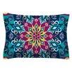 KESS InHouse Blooming Mandala by Amanda Lane Woven Sham