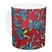 KESS InHouse Paper Leaf by Michelle Drew 11 oz. Ceramic Coffee Mug