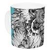 KESS InHouse Blumen by Anchobee 11 oz. Ceramic Coffee Mug