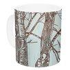 KESS InHouse Winter Trees by Sam Posnick 11 oz. Ceramic Coffee Mug