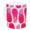 KESS InHouse Pinya Neon by Anchobee 11 oz. Ceramic Coffee Mug
