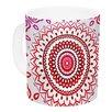 KESS InHouse Rainbow Infinity by Monika Strigel 11 oz. Ceramic Coffee Mug