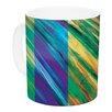 KESS InHouse Set Stripes II by Theresa Giolzetti 11 oz. Ceramic Coffee Mug