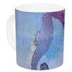 KESS InHouse Seahorse by Infinite Spray Art 11 oz. Painting Ceramic Coffee Mug