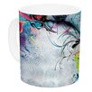 KESS InHouse Streaming Eyes by Mat Miller 11 oz. Abstract Ceramic Coffee Mug
