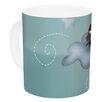 KESS InHouse Sleepy Guardian by Carina Povarchik 11 oz. Owl Ceramic Coffee Mug