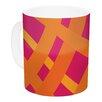 KESS InHouse Tangled by Fotios Pavlopoulos 11 oz. Ceramic Coffee Mug