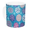 KESS InHouse Floral Winter by Julia Grifol 11 Oz. Ceramic Coffee Mug