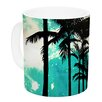 KESS InHouse Palm Trees & Stars by Caleb Troy 11 oz. Ceramic Coffee Mug