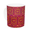 KESS InHouse Bright Squares by Nandita Singh 11 oz. Ceramic Coffee Mug