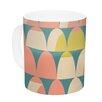 KESS InHouse Scallops by Michelle Drew 11 oz. Ceramic Coffee Mug