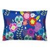 KESS InHouse Day of The Dead by Anneline Sophia Cotton Pillow Sham, Aztec