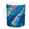KESS InHouse Big Wave by Theresa Giolzetti 11 oz. Ceramic Coffee Mug