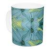 KESS InHouse Blues by Akwaflorell 11 oz. Ceramic Coffee Mug