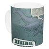 KESS InHouse Whale Talk by Sophy Tuttle 11 oz. Ceramic Coffee Mug