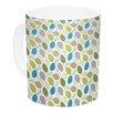 KESS InHouse Tangled by Julie Hamilton 11 oz. Ceramic Coffee Mug