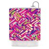 KESS InHouse Colorful Movement by Dawid Roc Abstract Shower Curtain
