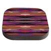 KESS InHouse Sola Color Coaster (Set of 4)