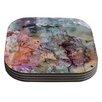 KESS InHouse Floating Colors Coaster (Set of 4)