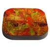 KESS InHouse Autumn Coaster (Set of 4)