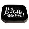 KESS InHouse Cuddle Time Coaster (Set of 4)