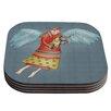 KESS InHouse Guardian Angel Coaster (Set of 4)