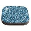 KESS InHouse Swirls Coaster (Set of 4)