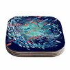 KESS InHouse Underwater Life Fish Coaster (Set of 4)