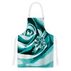 KESS InHouse Happy Engagement Fabric Artistic Apron