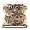 KESS InHouse Colorful Abstract Pattern by Famenxt Throw Pillow