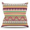 KESS InHouse Ethnic Love by Louise Machado Throw Pillow