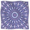 KESS InHouse Kaleidoscope Fleece Throw Blanket