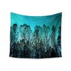 """KESS InHouse """"Dark Forest"""" by Sylvia Cook Wall Tapestry"""