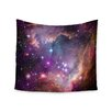 """KESS InHouse """"Cosmic Cloud"""" by Suzanne Carter Wall Tapestry"""