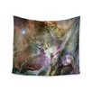 "KESS InHouse ""Orion Nebula"" by Suzanne Carter Wall Tapestry"