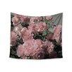 "KESS InHouse ""Blush Pink Flowers"" by Susan Sanders Wall Tapestry"