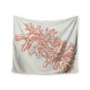 """KESS InHouse """"Finger Coral"""" by Sam Posnick Wall Tapestry"""