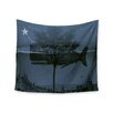 """KESS InHouse """"Whale Watch"""" by Suzanne Carter Wall Tapestry"""