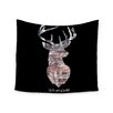 """KESS InHouse """"The Road Black"""" by Suzanne Carter Wall Tapestry"""
